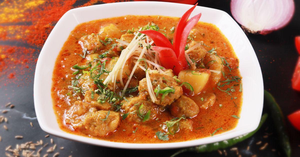 Soya Potato Curry image
