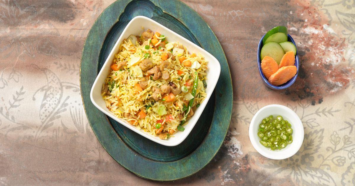 Soya Fried Rice image