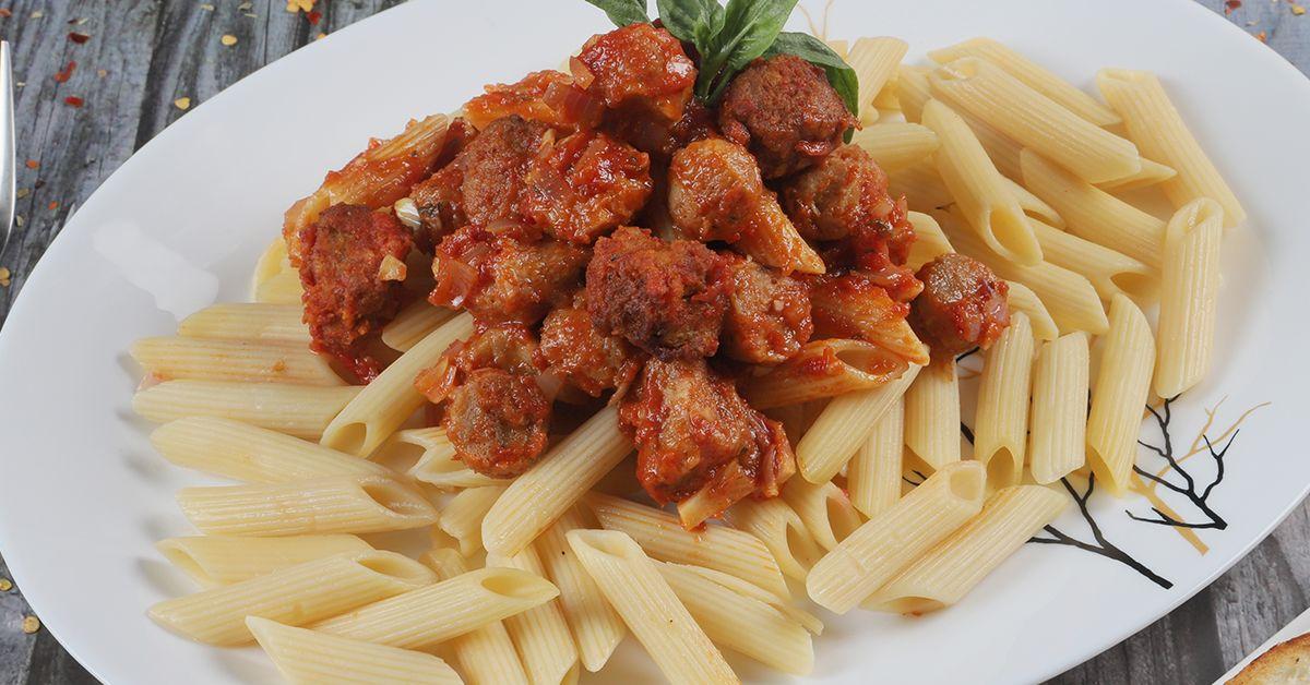 Soya Tomato Pasta image