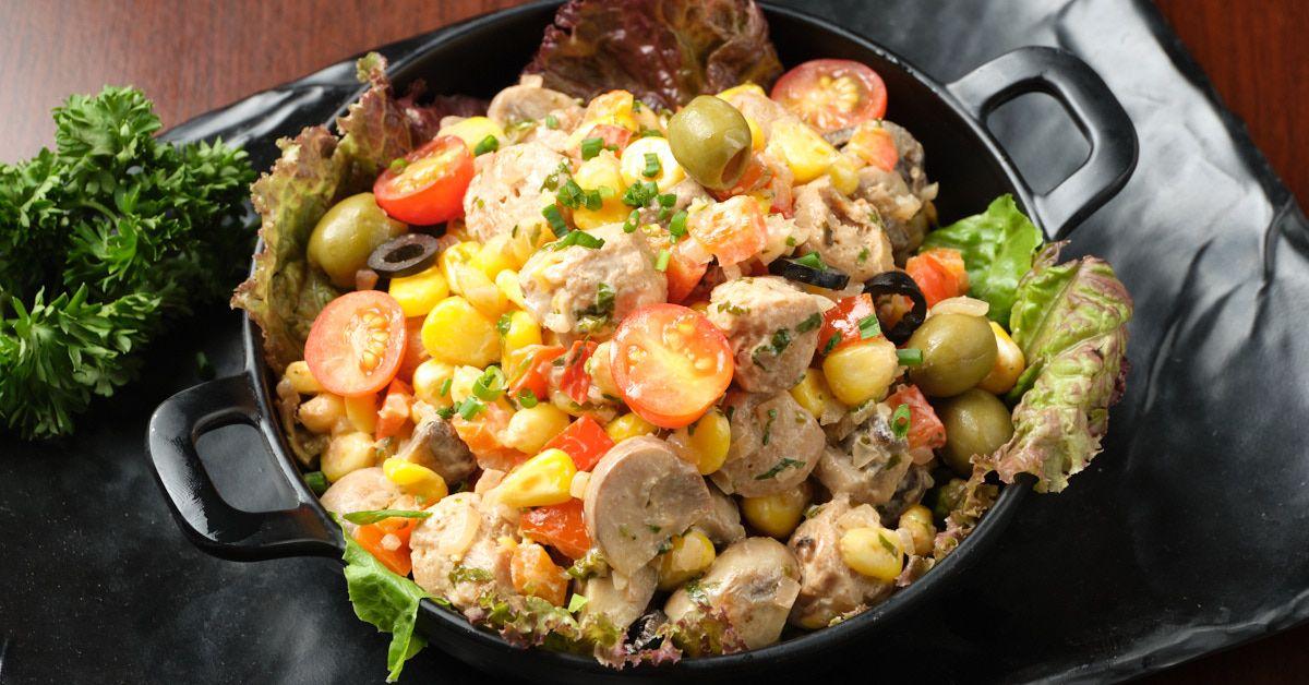 Soya Vegetable Salad image
