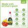 Marico's Veggie Clean, fruits & veggie cleanser 20's pack