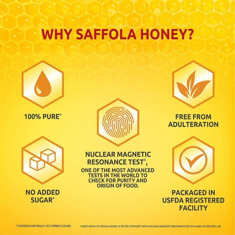 Saffola Gold 1l + 100% Pure Honey 1kg + Turmeric Milk 400g