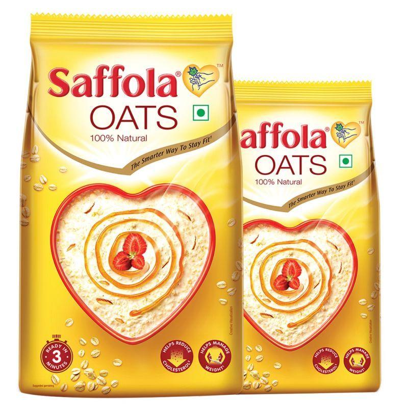 Saffola Oats, 1 kg with Free Saffola Oats 400 gm