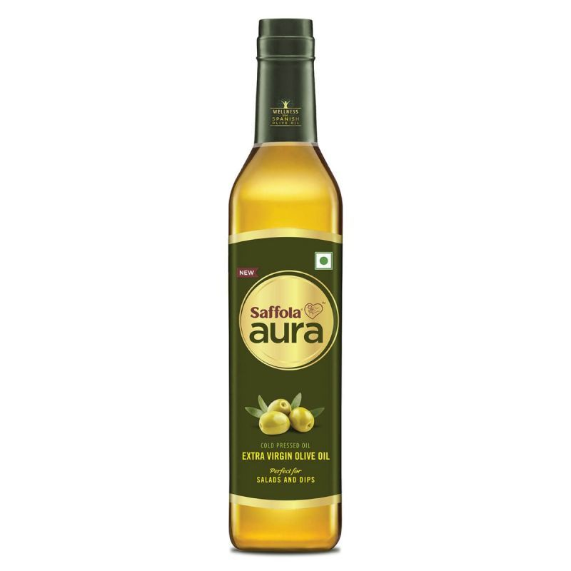 Saffola Aura Extra Virgin Olive Oil, 500ml