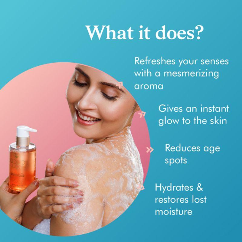 natural shower gel ingredients 30ml