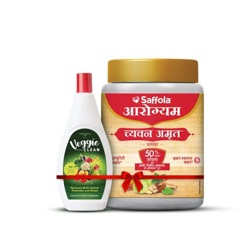 ChyawanAmrut 1 kg + Free Veggie clean ,400 ml