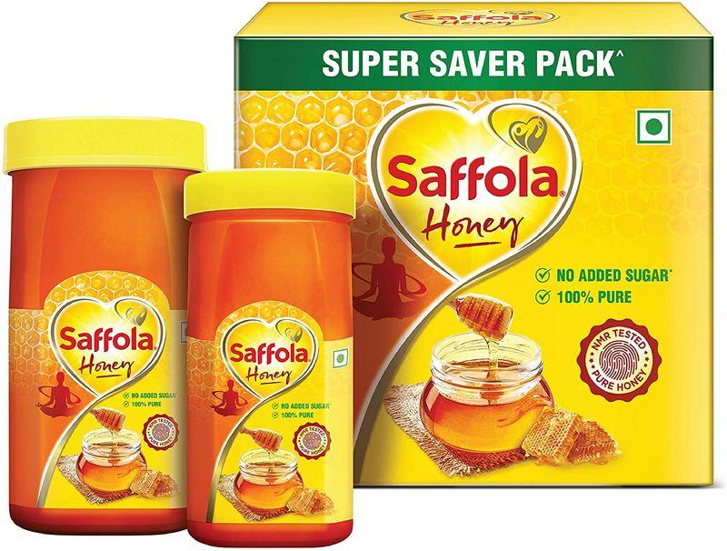 Saffola 100% Pure Honey 500g + 250g
