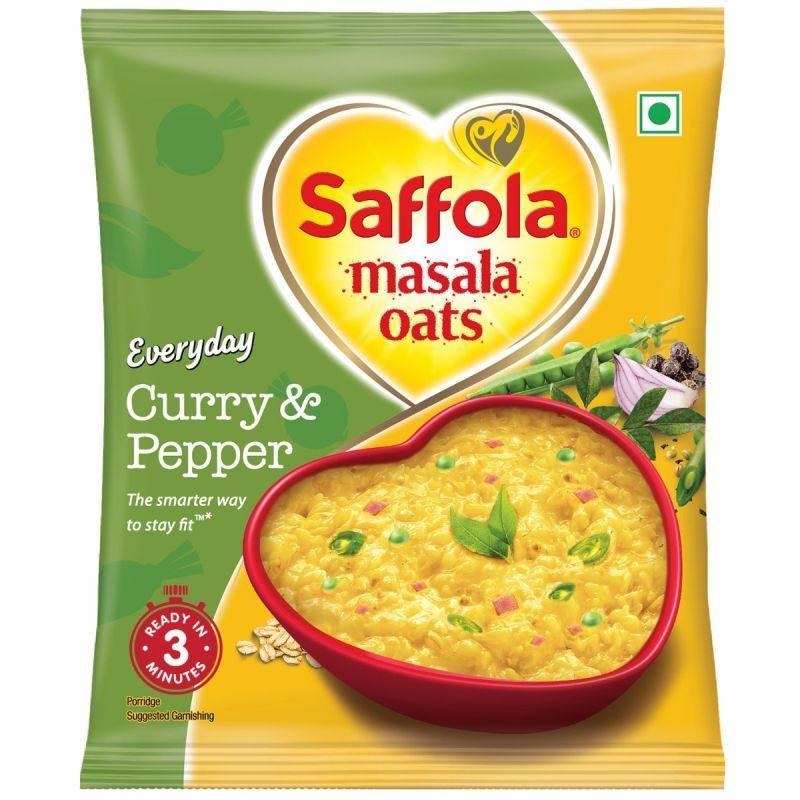 Saffola Masala Oats Curry & Pepper - 38 gm