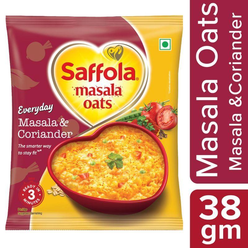 Saffola Masala Oats Masala & Coriander - 38 gm