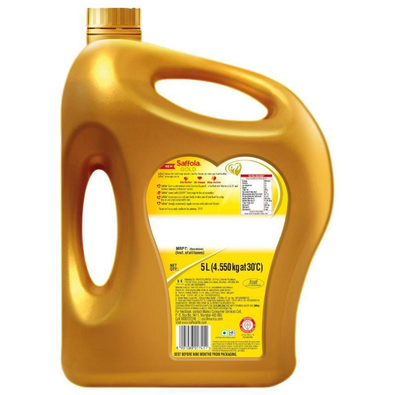 Saffola Gold 5lt + Saffola Immuniveda Kadha Mix- 80g (20 Sachets x 4g )