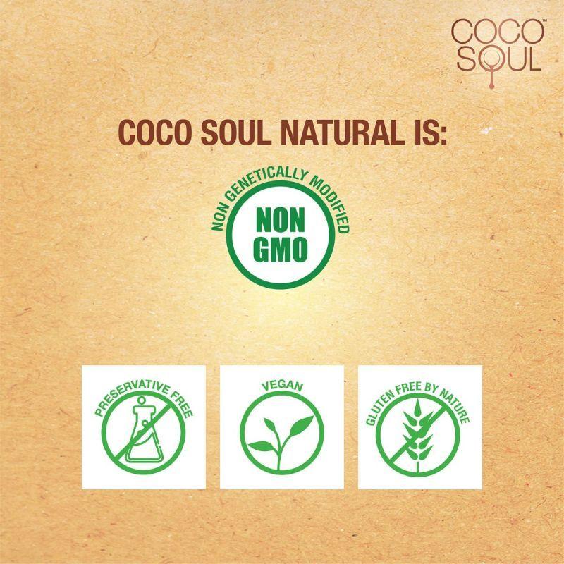 Coco Soul Cold Pressed Natural Virgin Coconut Oil, 500 ml