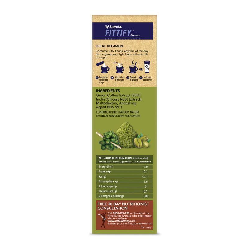 Saffola Honey 250 gm + Green Coffee Classic (15 Sachets 30gm)