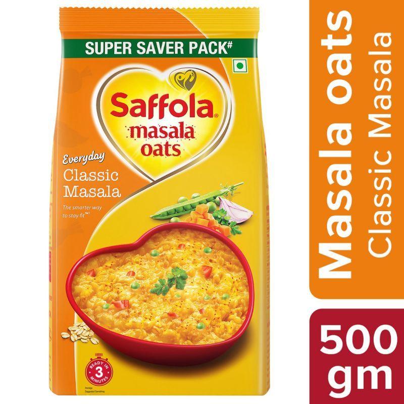Saffola Masala Oats Classic Masala - 500 gm