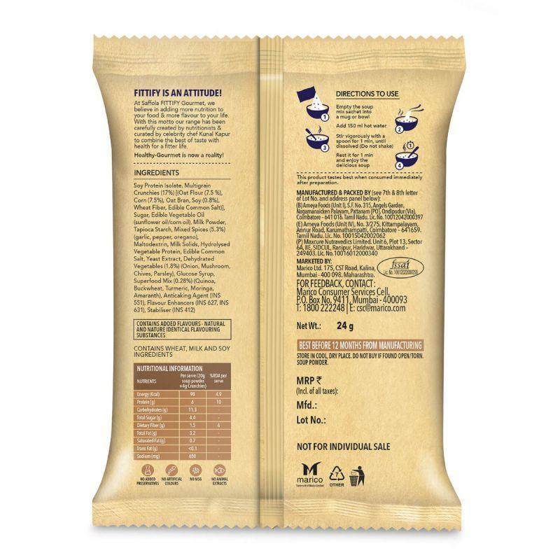 Hi-Protein Soup French Mushroom Garlic -24g