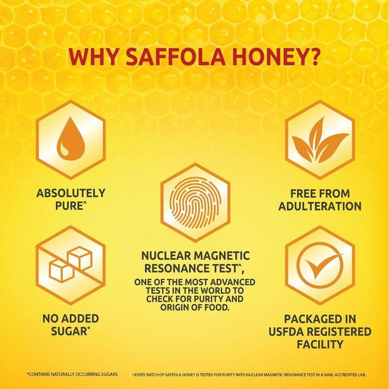 Saffola Immuniveda Kadha Mix- 80g (20 Sachets x 4g )  + Saffola Honey 250g