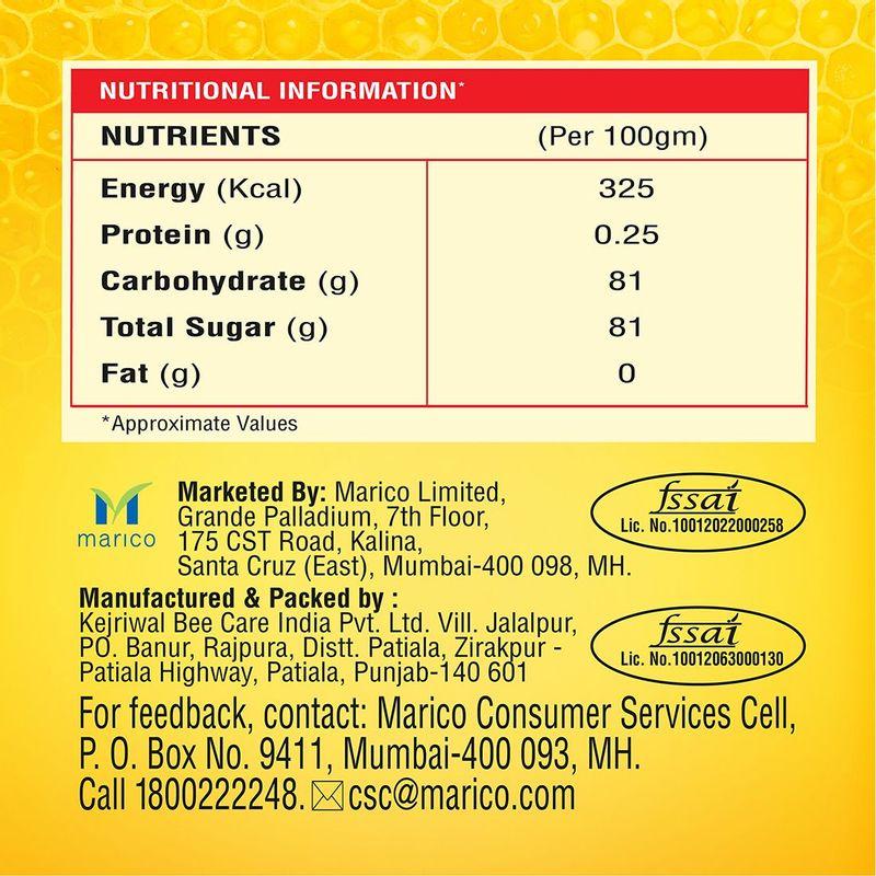 Saffola Immuniveda Kadha Mix- 80g (20 Sachets x 4g ) +Saffola Immuniveda Golden Turmeric Milk Mix 400g + Saffola  Honey 500g