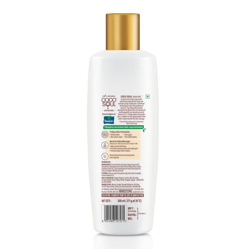 Coco Soul Skincare Skin Nourishing Oil, for Baby Massage, For Skin Massage 300ml
