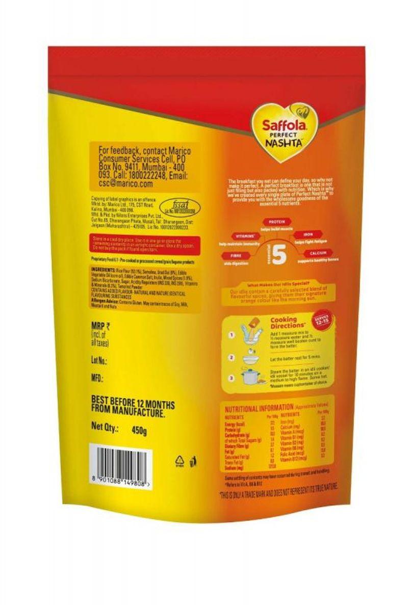 saffola perfect nashta Idli 450 g + saffola perfect nashta dosa 450g