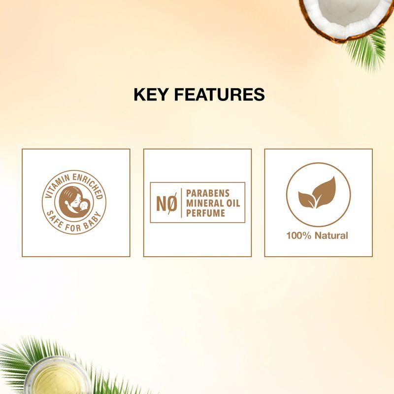 Coco Soul Skincare Skin Nourishing Oil, for Baby Massage, For Skin Massage 150ml
