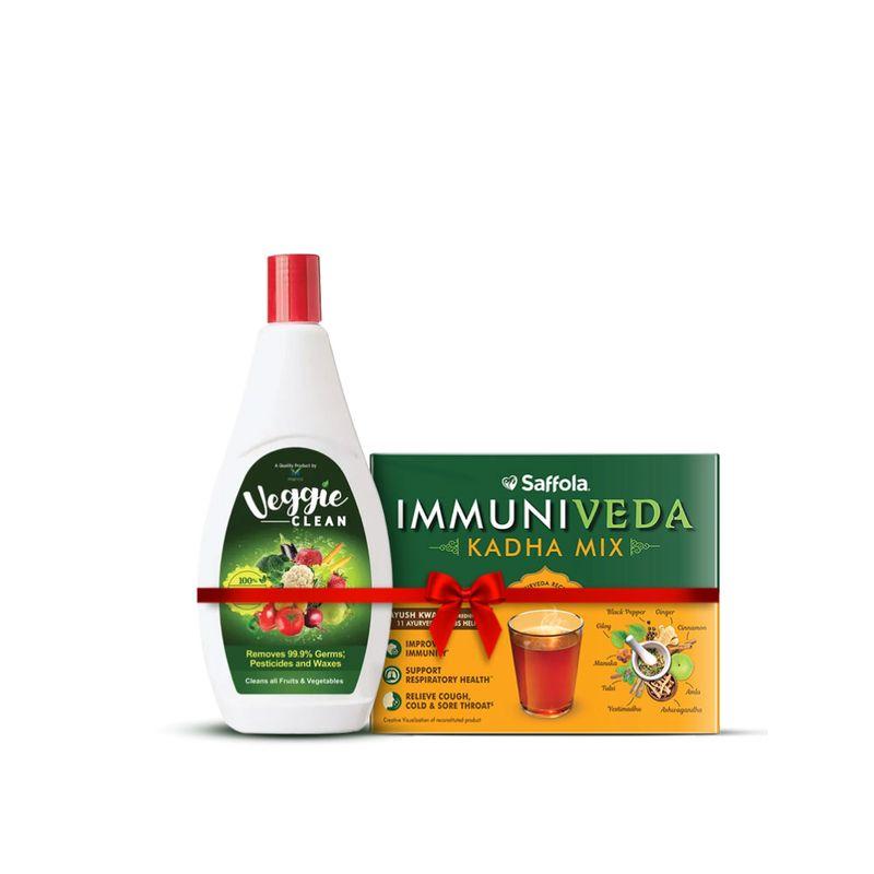 Immunity Combo | Kadha 200g+ Free Veggie clean, 400ml