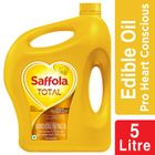 Saffola Total-Pro Heart Conscious Edible Oil- 5 L Jar