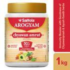 Saffola Arogyam Chyawanamrut includes Chyawanprash, haldi & Ayushkwath Kadha ingredients - 1 Kg