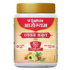 Saffola Arogyam Chyawanamrut includes Chyawanprash, haldi & Ayushkwath Kadha ingredients - 500g