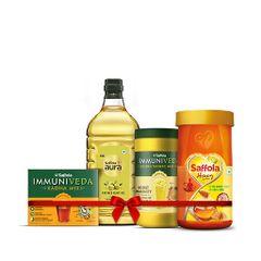 Aura 2L + Kadha 200g + Turmeric Milk + Honey 1KG
