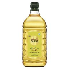 Saffola Aura Refined Olive Oil, 2ltr