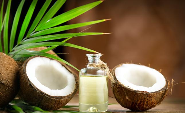 virgin coconut oil for glowing skin