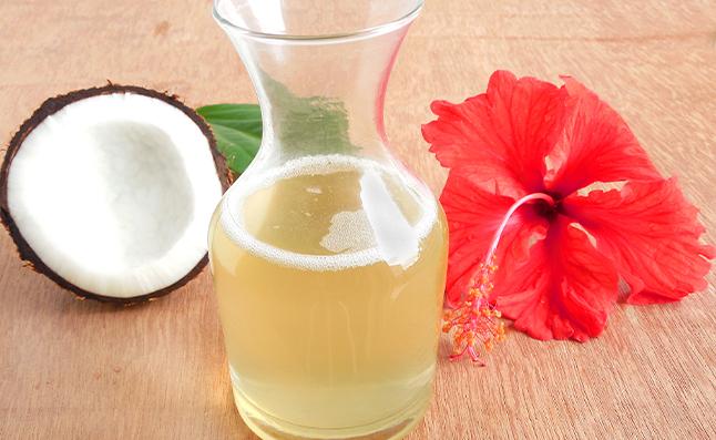 virgin coconut oil in hair care regimen